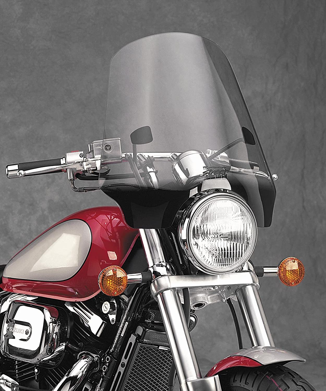 National Cycle N2567 Light Tint Street Shield EX for 7//8in One Size Handlebars
