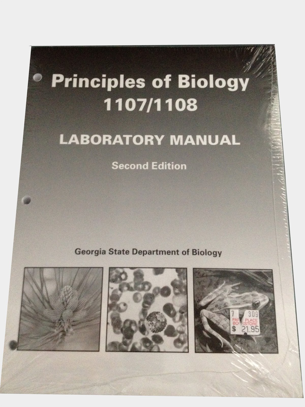 Principles of Biology 1107/1108 Laboratory Manual Second Edition: Georgia  State Department of Biology: 9780895824783: Amazon.com: Books