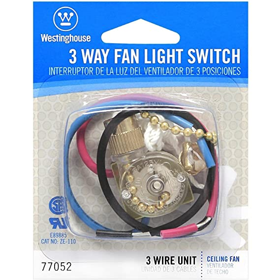 Westinghouse Lighting 3 Way Fan Light Switch on 3-way fan switch replacement, 3-way light switch, 3-way lamp switch wiring, three-way light wiring, 3-way switch wiring examples, 3-way fan control switch, 3-way switch common, 3-way switch ceiling fan, 3-way switch schematic continue, 3-way dimmer switch wiring, 3-way electrical wiring,