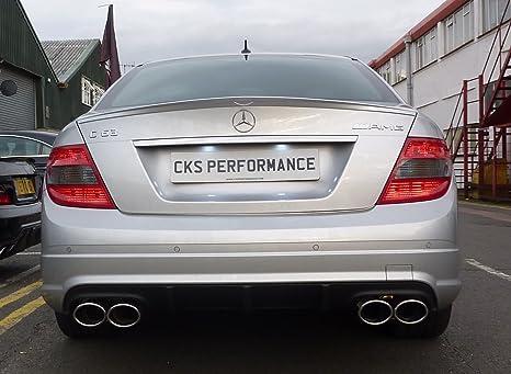Mercedes W204 C Class para Spoiler C180 C200 C220 C250 C320 C350 C63