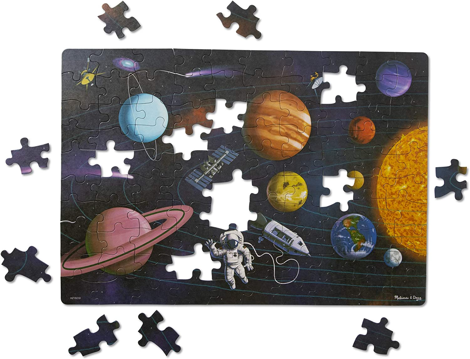 100PCS Jigsaw Puzzles Educational Toy Scenery Space Stars Educational Puzzle