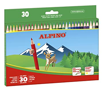 Alpino AL010659 - Estuche 30 lápices: Amazon.es: Oficina y ...