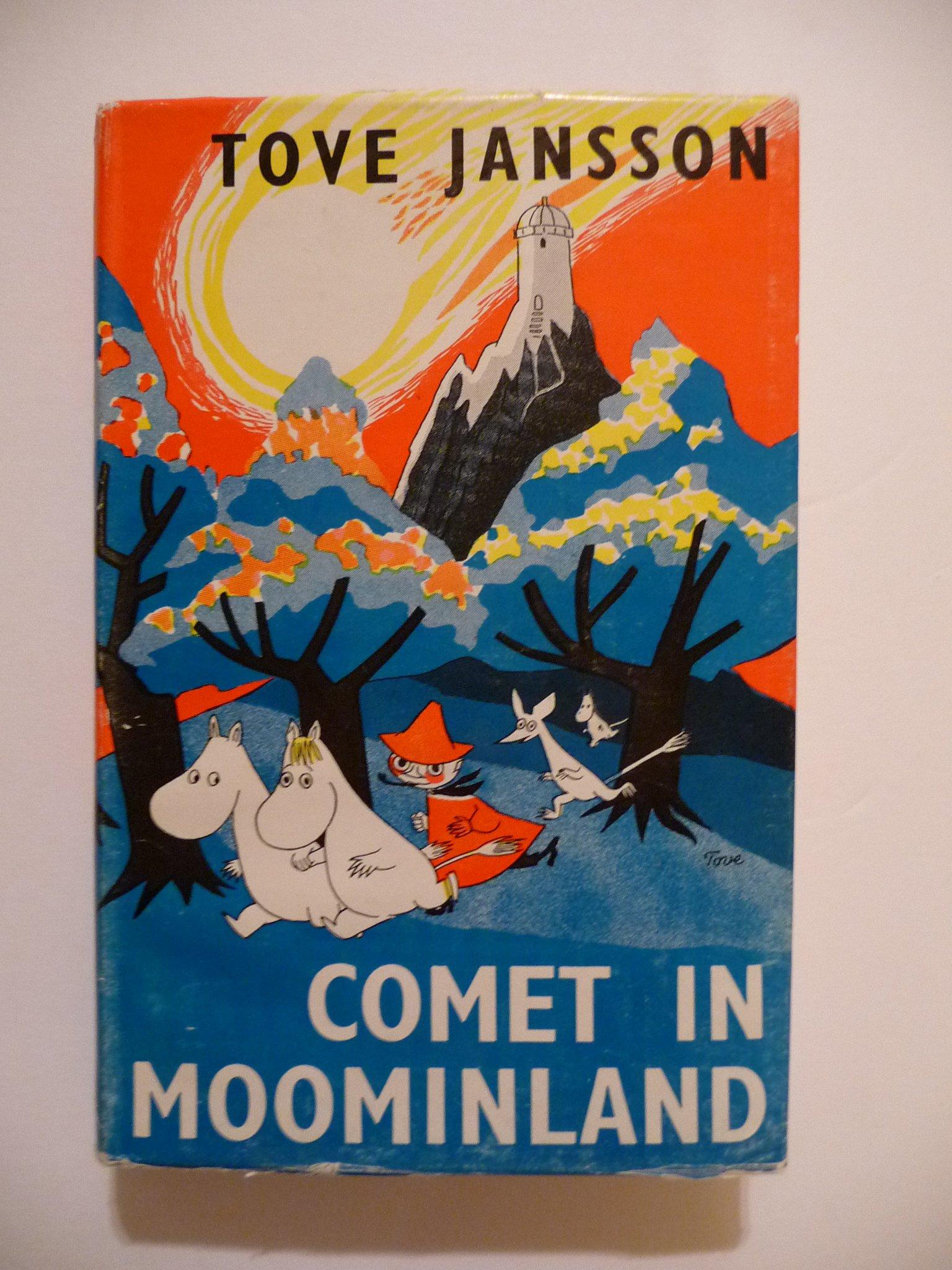 Comet In Moominland Book