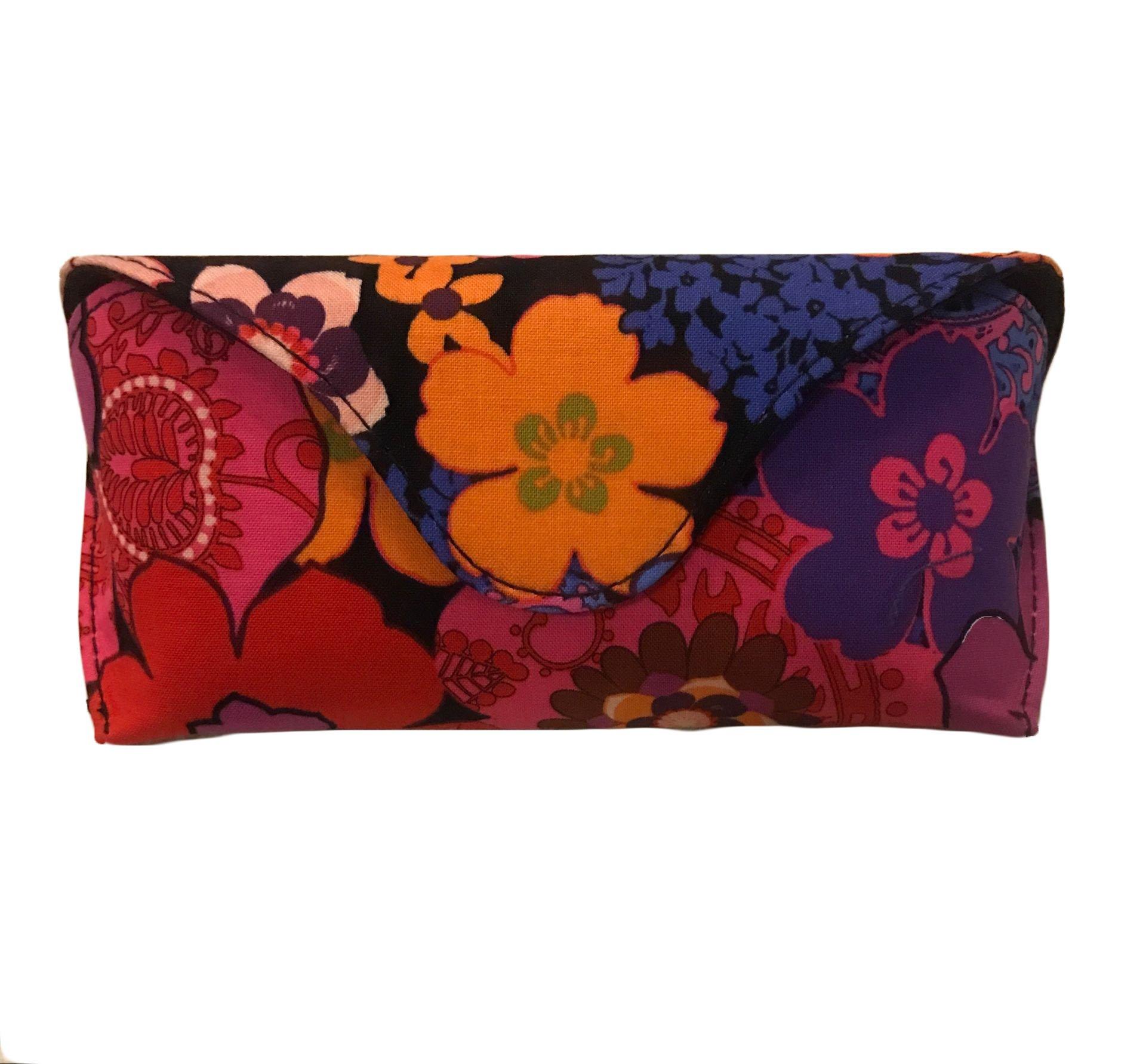 Vera Bradley Sunglass / Eyeglass Case in Floral Fiesta by Vera Bradley