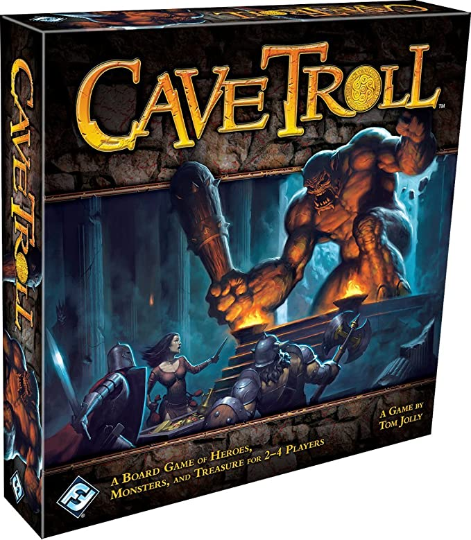 Amazon.com: Cave Troll: Fantasy Flight Games: Toys & Games