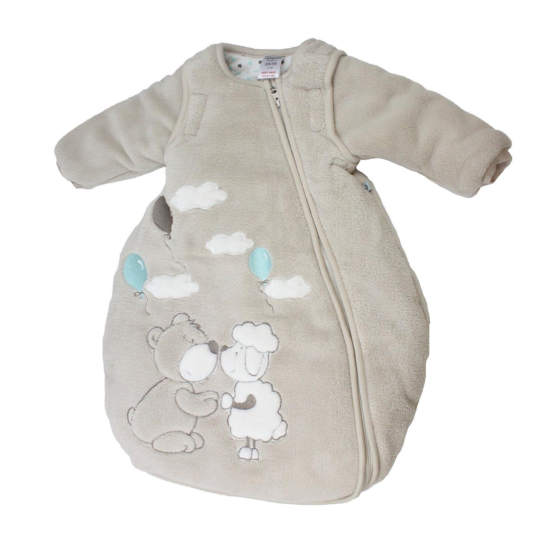 Jacky Mädchen und Jungen Winter Schlafsack mit abnehmbaren ärmeln