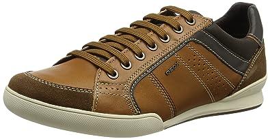 Geox U Kristof A, Baskets Basses Homme  Amazon.fr  Chaussures et Sacs bef893b6b514
