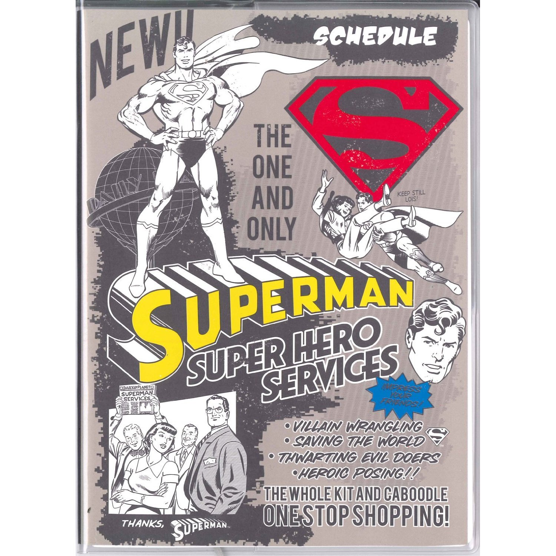 Amazon.com : 2015 Marvel Superman Schedule Book Weekly ...