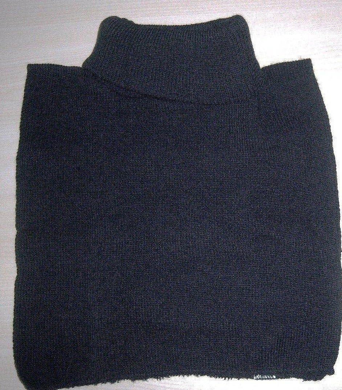 2in1 Rollkragen Schal Rollkragenschal schwarz Kragen Einsatz Damen