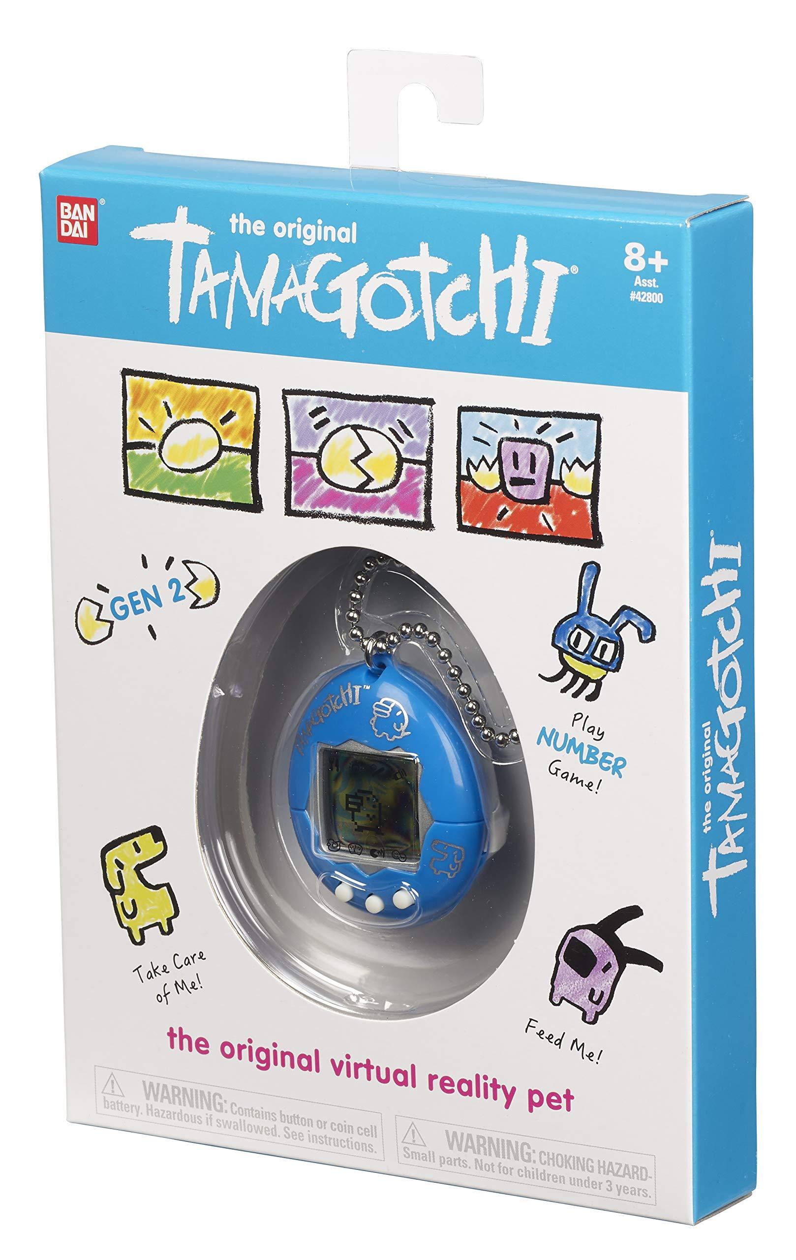 Tamagotchi Electronic Game, Blue/Silver by Tamagotchi (Image #4)