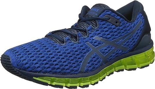 ASICS Quantum 360 Shift Deportivas Hombres Bleu/Jaune Fluo Running/Trail: Amazon.es: Zapatos y complementos
