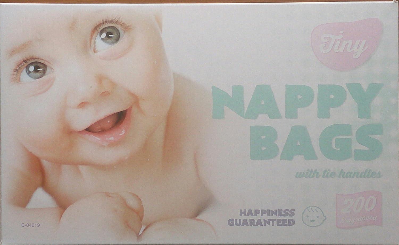 Bolsas de pañales perfumadas, 2 paquetes de 200 unidades, imán gratis: Amazon.es: Bebé