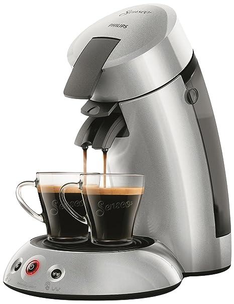 Philips hd6556/51 cafetera MONODOSIS de café Senseo Original 2.5 + Plata 0, 75