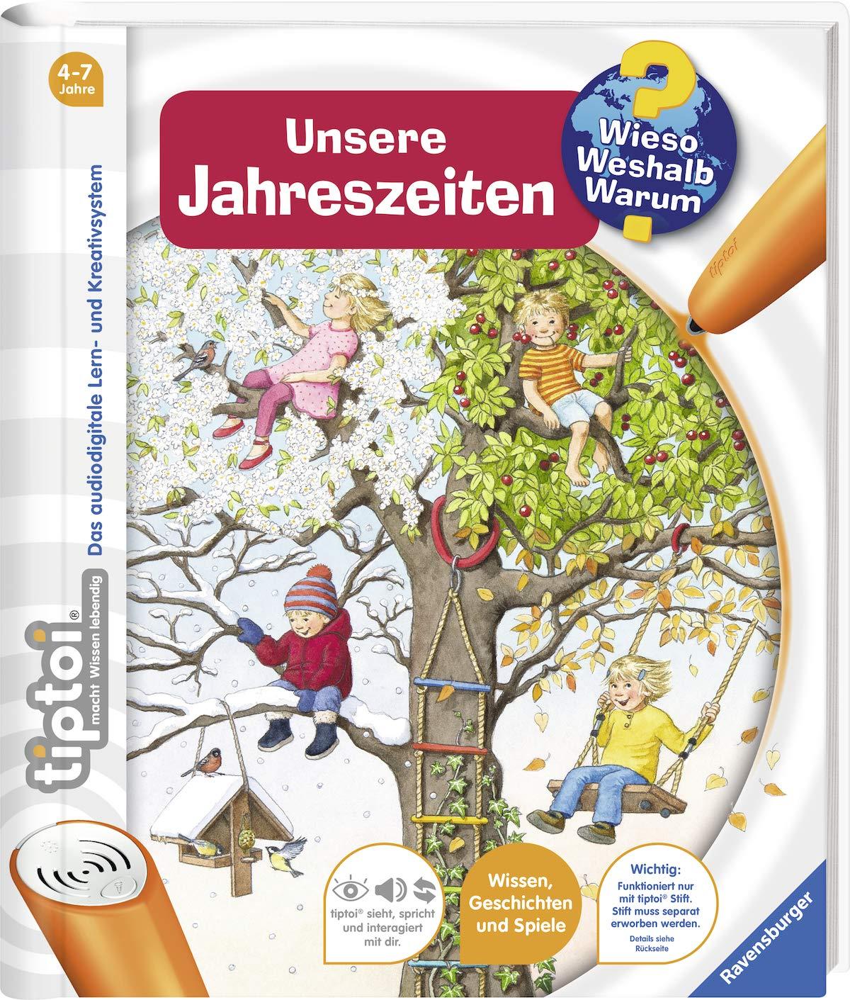 tiptoi® Unsere Jahreszeiten (tiptoi® Wieso? Weshalb? Warum?, Band 18) Spiralbindung – 26. August 2015 Inka Friese Constanze Schargan Ravensburger Buchverlag 3473329185