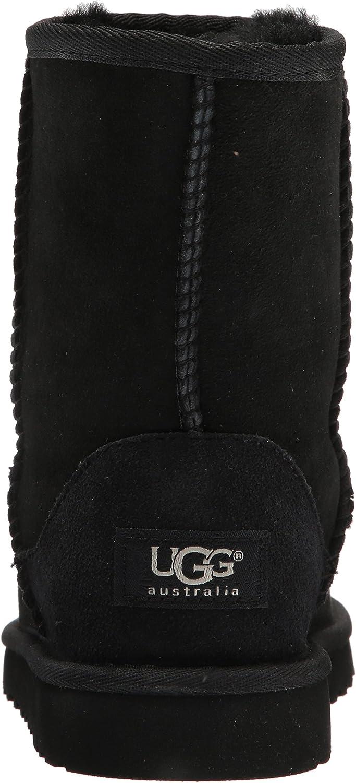 UGG Femmes Classic Short 5825, Damen Stiefel, Noir