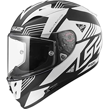 LS2Ff323 Arrow R Evo Neon Casco para moto, ...