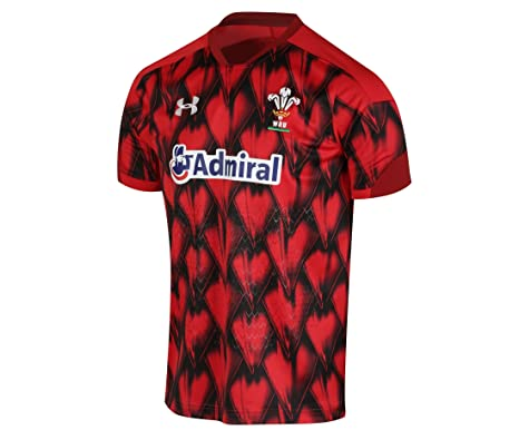 cd4dd87580c Under Armour Men's Welsh Rugby Supporters 7S Jersey, Red (602), Small