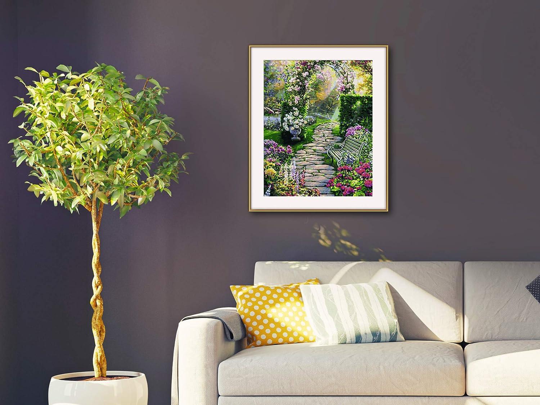 Dipingere con i Numeri Un Bel Giardino 40 x 50 cm Schipper 609130804