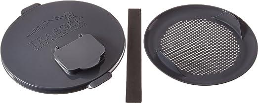 Traeger Pellet Grills Bac370 Pellet Storage Lid Filter Kit Gray Amazon Ca Home Kitchen