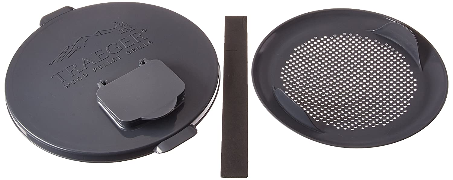 Pellet Storage Lid & Filter Kit Traeger Wood-Fired Grills BAC370