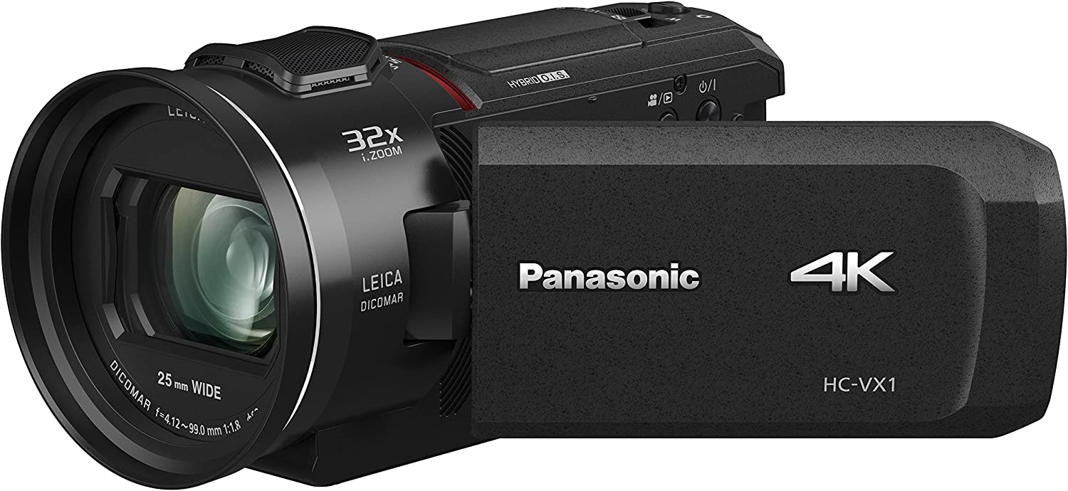 Panasonic HC-VX1 4K best low light video Camcorder