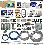準備万端 (1回練習分) 平成29年度 第二種電気工事士技能試験練習用材料 「全13問分の器具・電線セット」