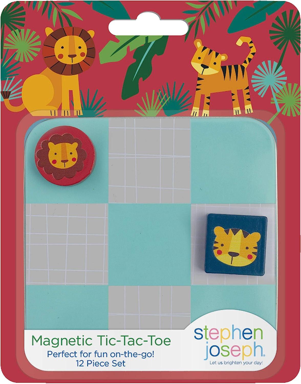 Stephen Joseph Magnetic Tic Tac Toe Sets, Zoo