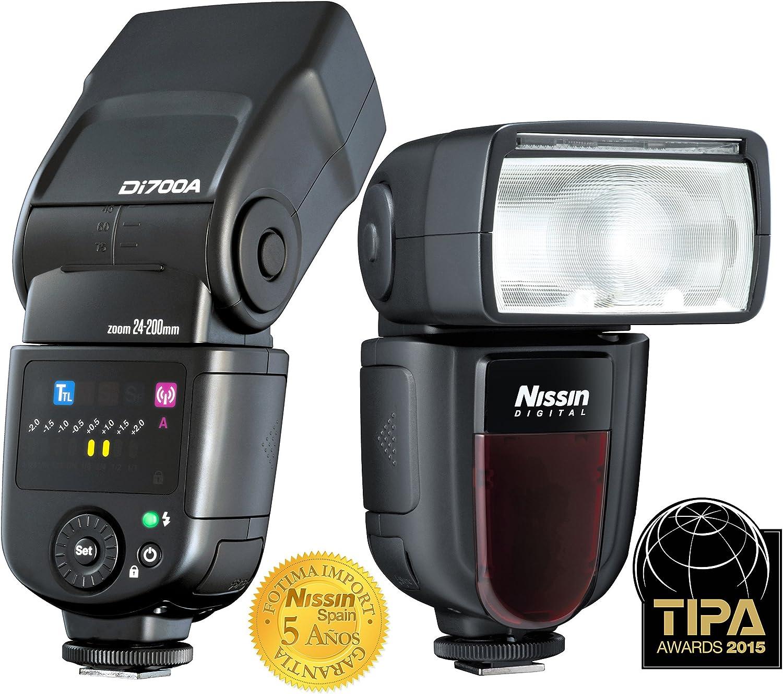 Nissin DI 700 Air - Flash para Canon, Negro: Amazon.es: Electrónica