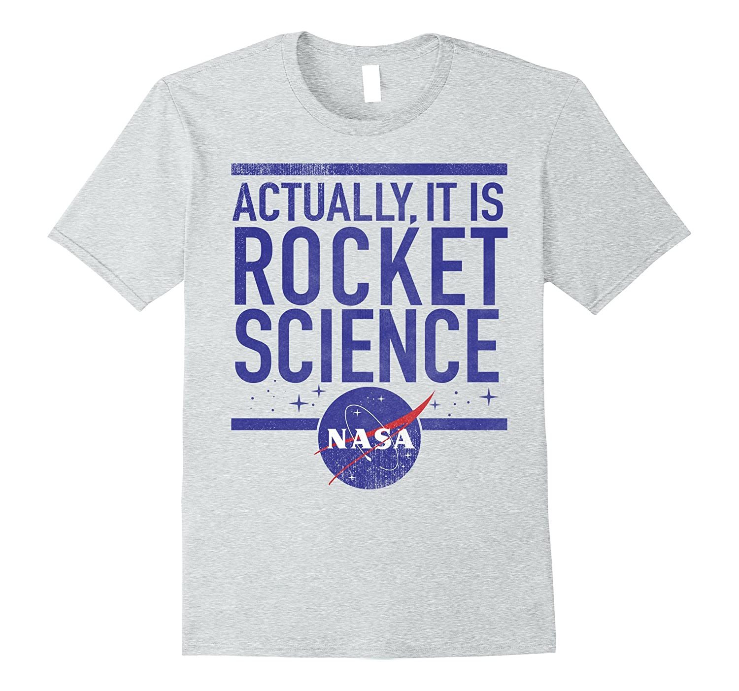 a3999e4fb NASA Actually It Is Rocket Science Graphic T-Shirt-ANZ ⋆ Anztshirt