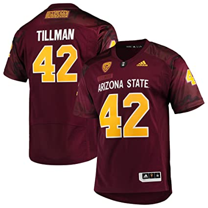 new product 633a0 bf350 adidas Pat Tillman Arizona State Sun Devils Special Game Premier Jersey