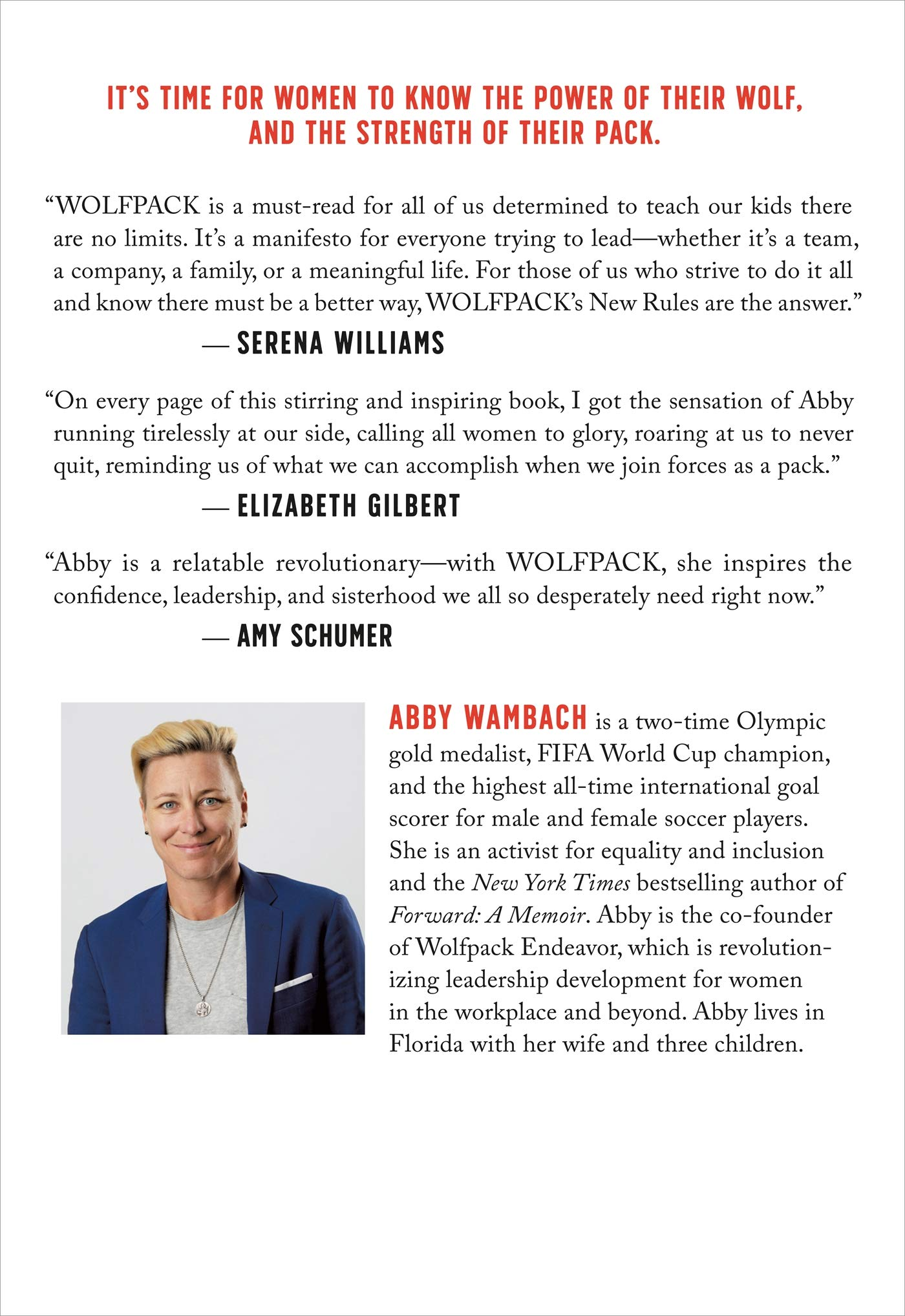WOLFPACK: How to Come Together, Unleash Our Power, and Change the Game: Amazon.es: Wambach, Abby: Libros en idiomas extranjeros