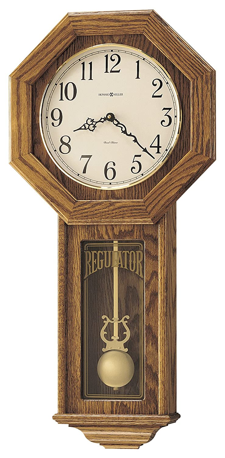 Amazon howard miller 620 160 ansley wall clock home kitchen amipublicfo Image collections