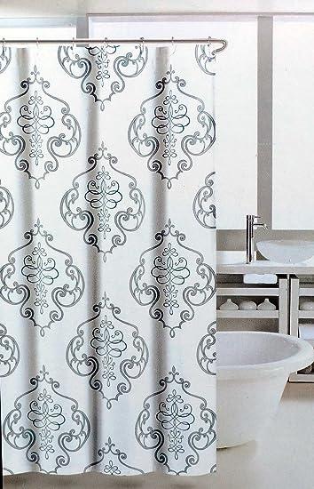 Nice Nicole Miller Fabric Shower Curtain Regal Medallion