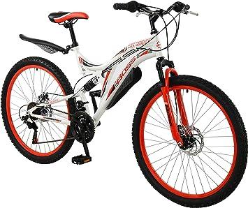 BOSS Ice White - Bicicleta para Mujer (45,7 cm), Color Rojo/Blanco ...