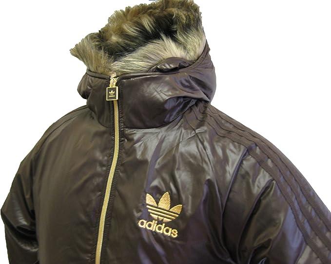 Adidas Originals Mens M Chile 62 Nylon Bomberjacke, Braun