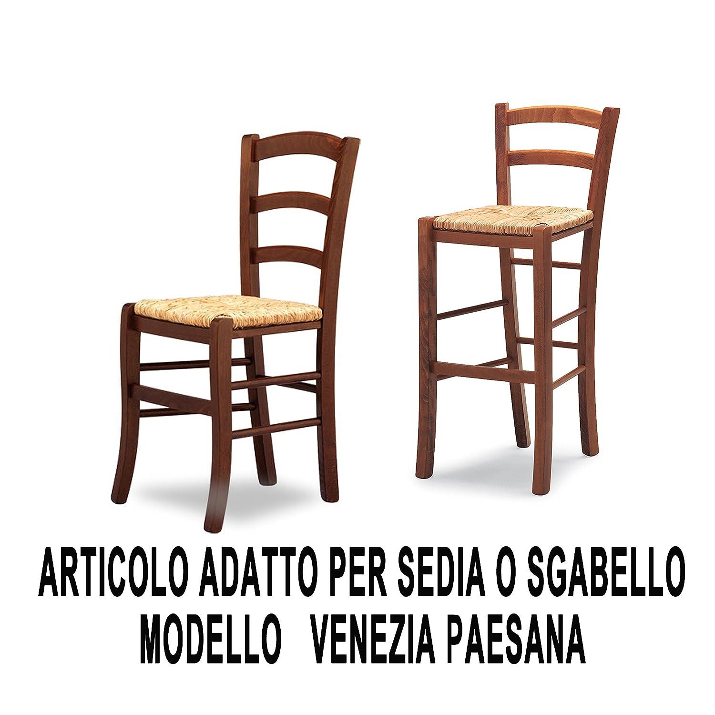 Seduta Fondo Paglia di Riso Paesana FACILCASA Ricambio Sedia Venezia Art.20r