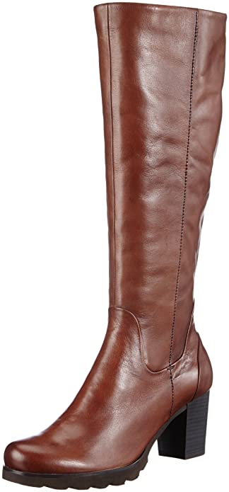 CAPRICE STIEFEL DAMEN Boots Gr. UK 4 (DE 37) Leder braun