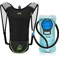 Mochila de hidratación para ciclismo con bolsa