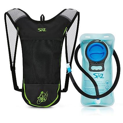 herren Neu werden Online kaufen Hydration Rucksack Fahrradrucksack Trinkrucksack Wanderrucksack mit  Trinksystem 2L Trinkblase Trinkbeutel BPA-frei für Wandern Klettern  Radsport ...