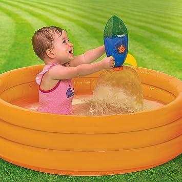 Tomy Infant - Cohete Espacial para baño (30692357): Toomies: Amazon.es: Juguetes y juegos