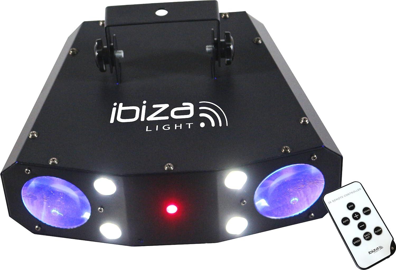 Ibiza COMBO-3IN1 Moonflower-Strobe-Laser Combination/IRC Lotronic