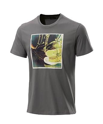 Converse T-Shirt Men s - AMT PHOTO 05877C - Charcoal Grey b8be1eb4f649