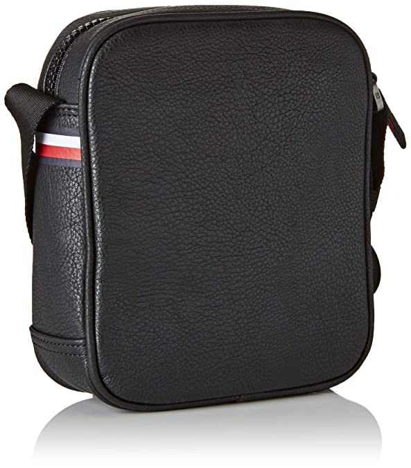 920605fd0ef Tommy Hilfiger Essential Mini Reporter, Men's Shoulder Bag, Black, 5x20x16  cm (B x H T): Amazon.co.uk: Shoes & Bags