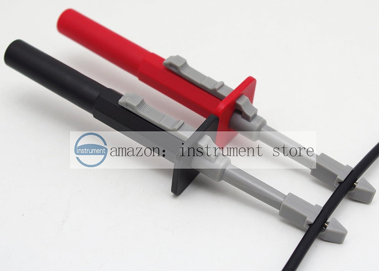 Amazon.com: Test clip set insulation piercing alligator Probes For ...