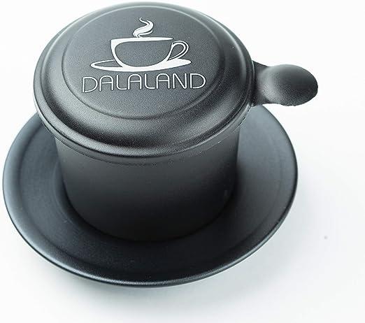 DALALAND - Cafetera de aluminio vietnamita con mecanismo de goteo ...