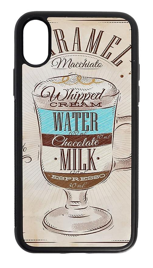 Funda Protectora Carcasa para iPhone X Cocina Receta dulce de leche