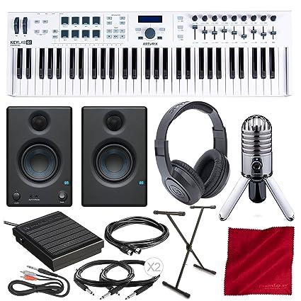 Amazon com: Arturia KeyLab Essential 61 Universal MIDI Controller