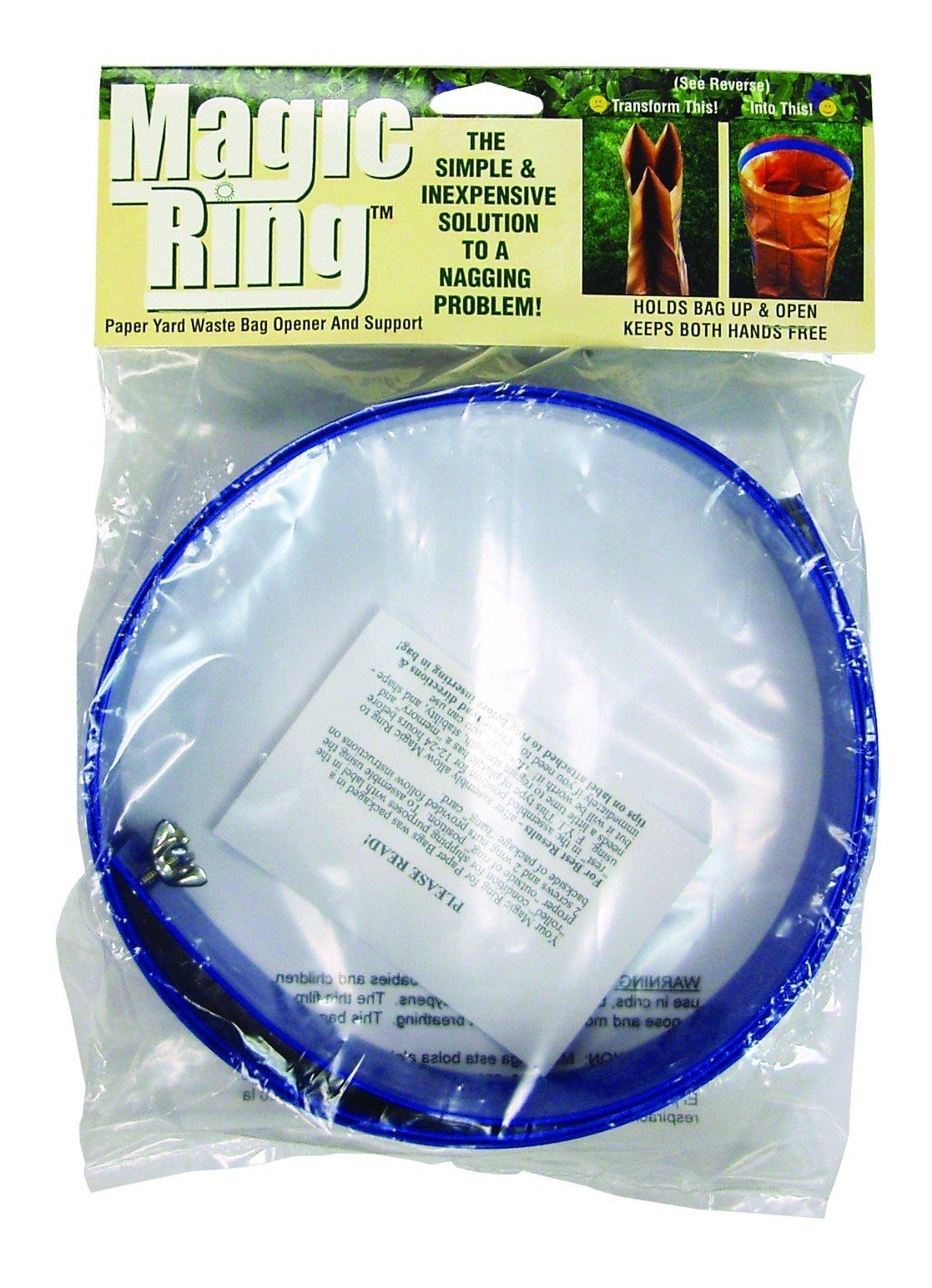 The Rumford Gardener MGR1000 Magic Ring Yard Cleanup Paper Bag Helper by The Rumford Gardener