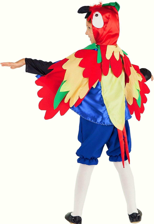 Deluxe Papagayo Disfraz Para Niños – Disfraz infantil de papagayo ...