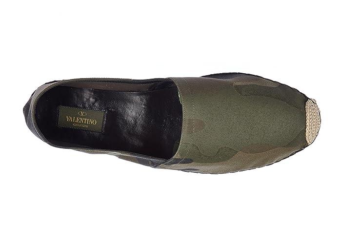 5fd9ffcfe49 Valentino Garavani Espadrilles Homme en Coton Camouflage Vert  Amazon.fr   Chaussures et Sacs